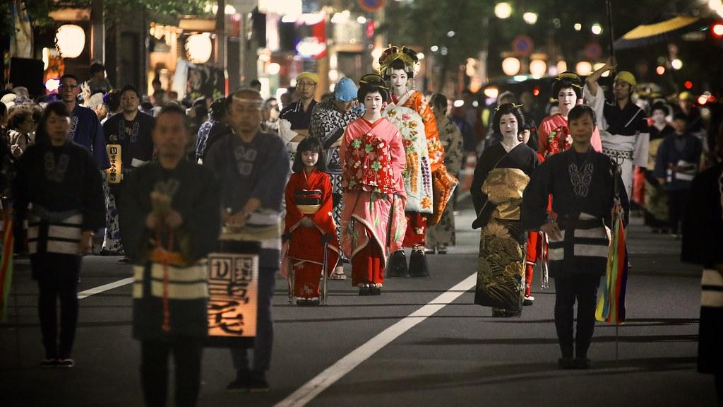 Oiran Dochu Procession in SUSUKINO 2018
