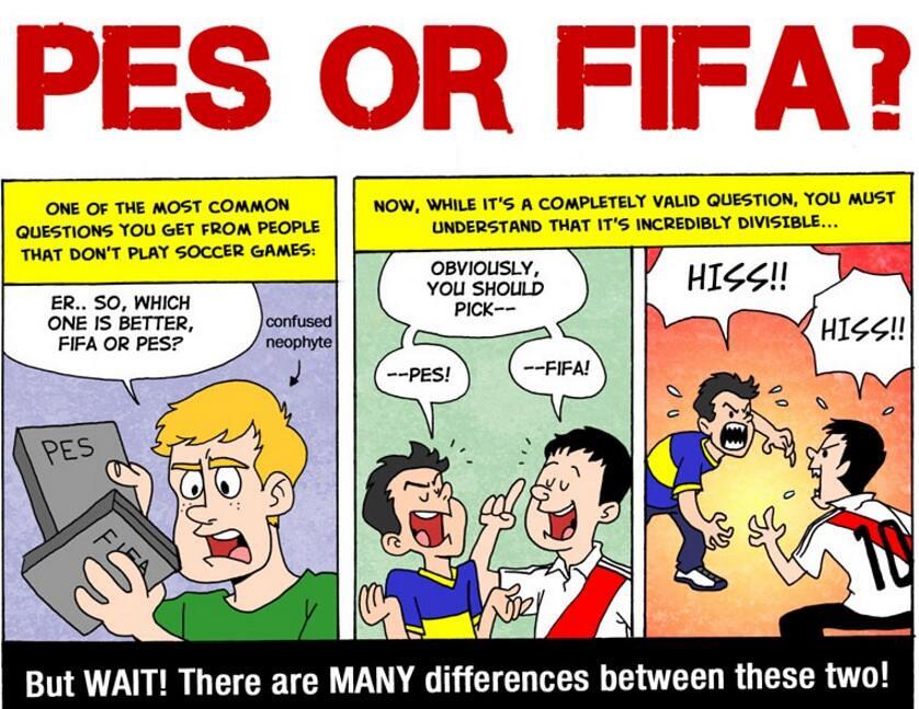 FIFA Or PES