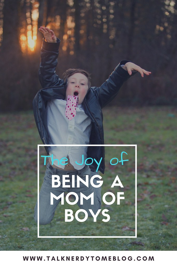 The joy of being a mom of boys