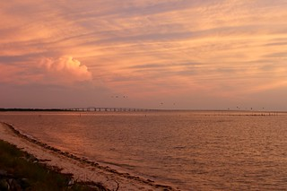 Chesapeake Bay at sunset | by rcolonna