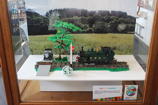 Lego Display at Tiverton Museum | by ScotNick1