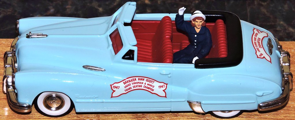 1947 Buick Roadmaster Convertible model, with figure of Ba… | Flickr