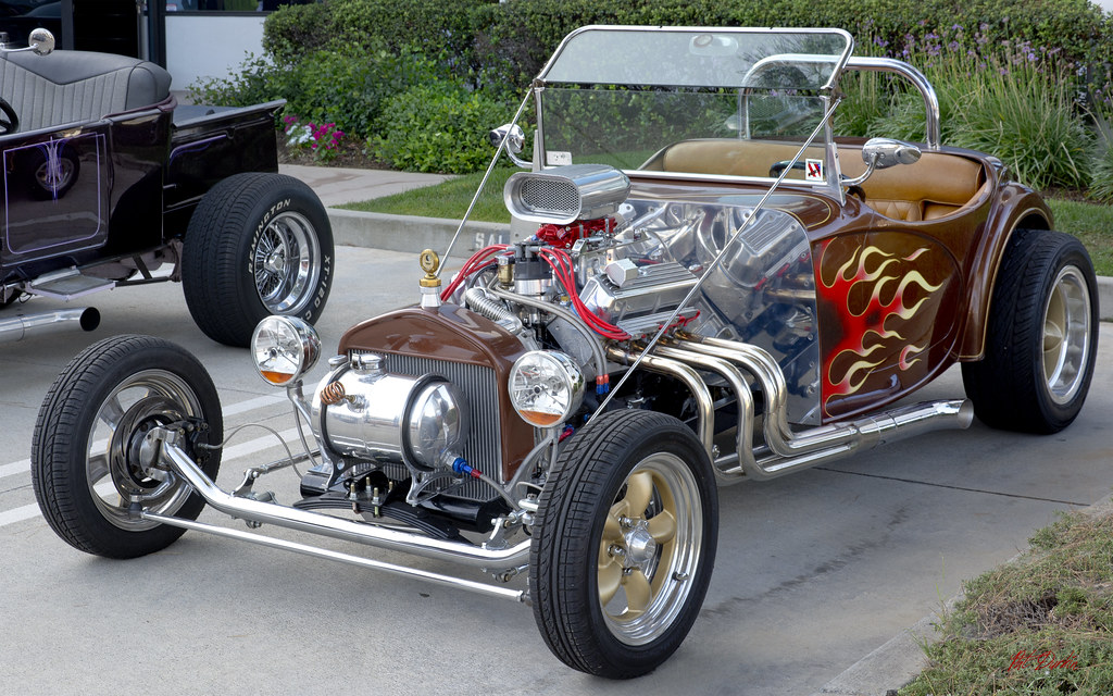 Hot Rod Roadster (kit car) | Cars & Coffee - Corona, CA Amer… | Flickr