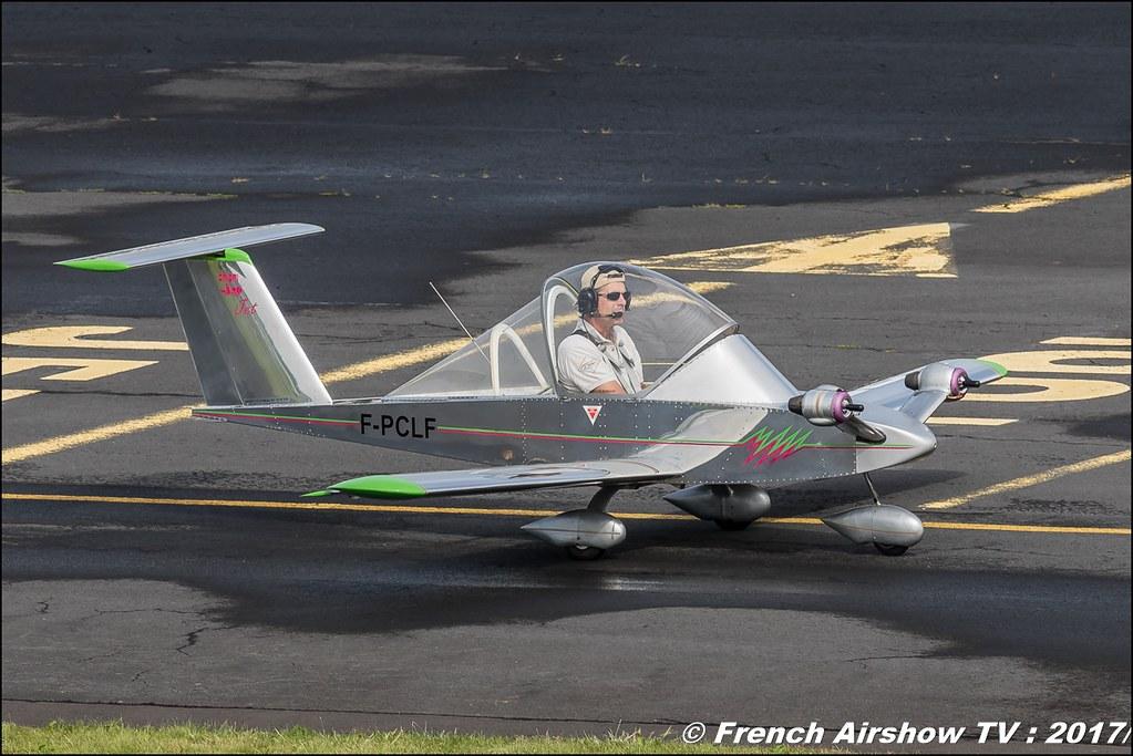 Cri-Cri - F-PCLF, Free Flight ,JPO Aurillac 2017 , Meeting Aerien Aeroclub du cantal 2017