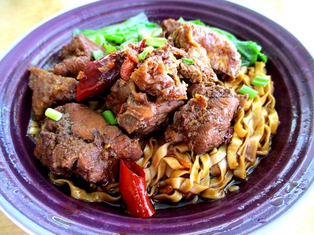 Noal's Noodle pork rib noodles 1