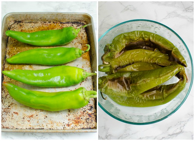 Roasted Hatch Peppers