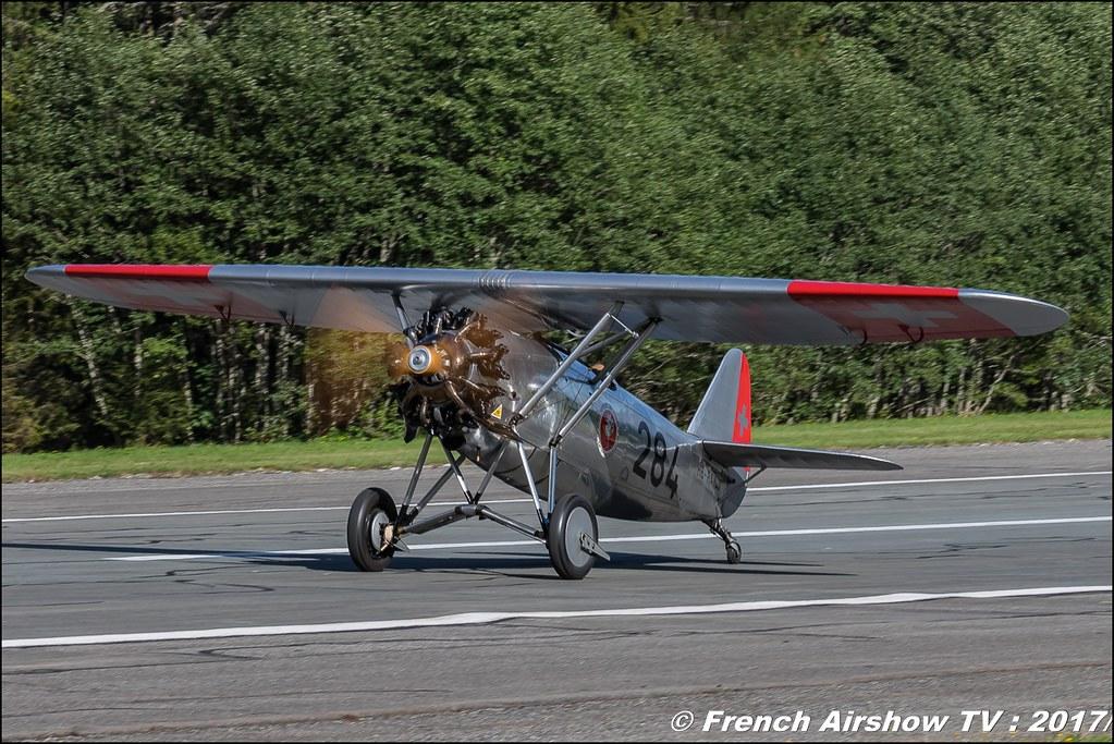 Dewoitine D.26 HB-RAI , 284 50ans d'Aviation Megeve 2017 - altiport de Megève , Haute-Savoie, Auvergne-Rhône-Alpes , Meeting Aerien 2017