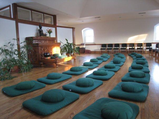 CIMC meditation hall