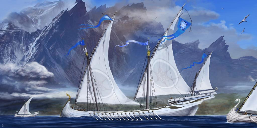 Ships of the Grey Havens
