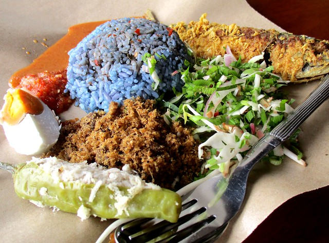 Warong Cafe nasi kerabu
