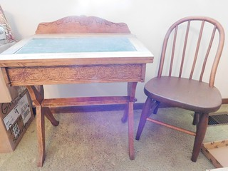 Early 1900's child's slate top desk | by thornhill3