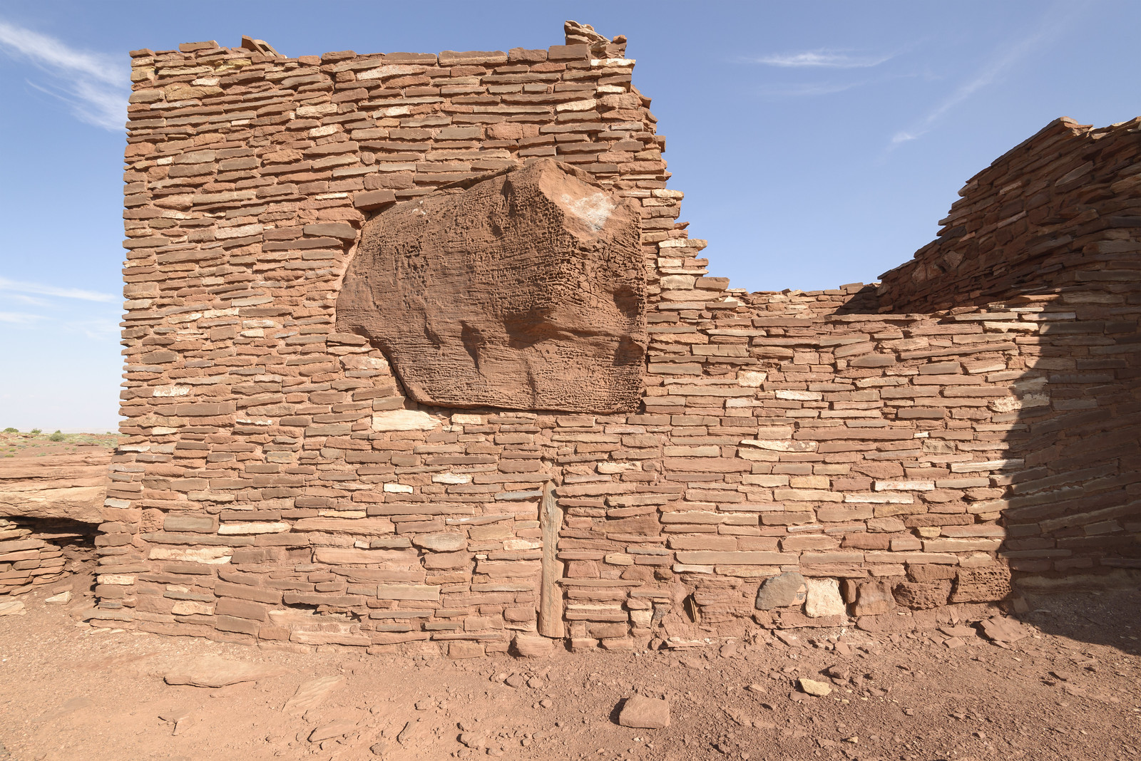 West Wall of the Wupatki Ruin | by GC_Dean