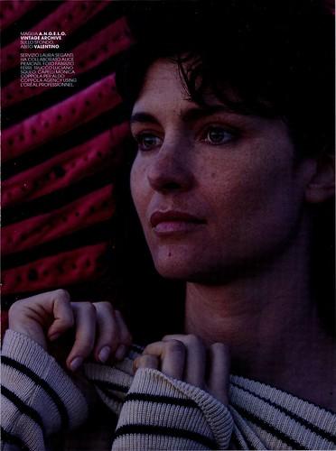 Marie Claire Settembre 2017 Vittoria Puccini Maglia Angelo Vintage