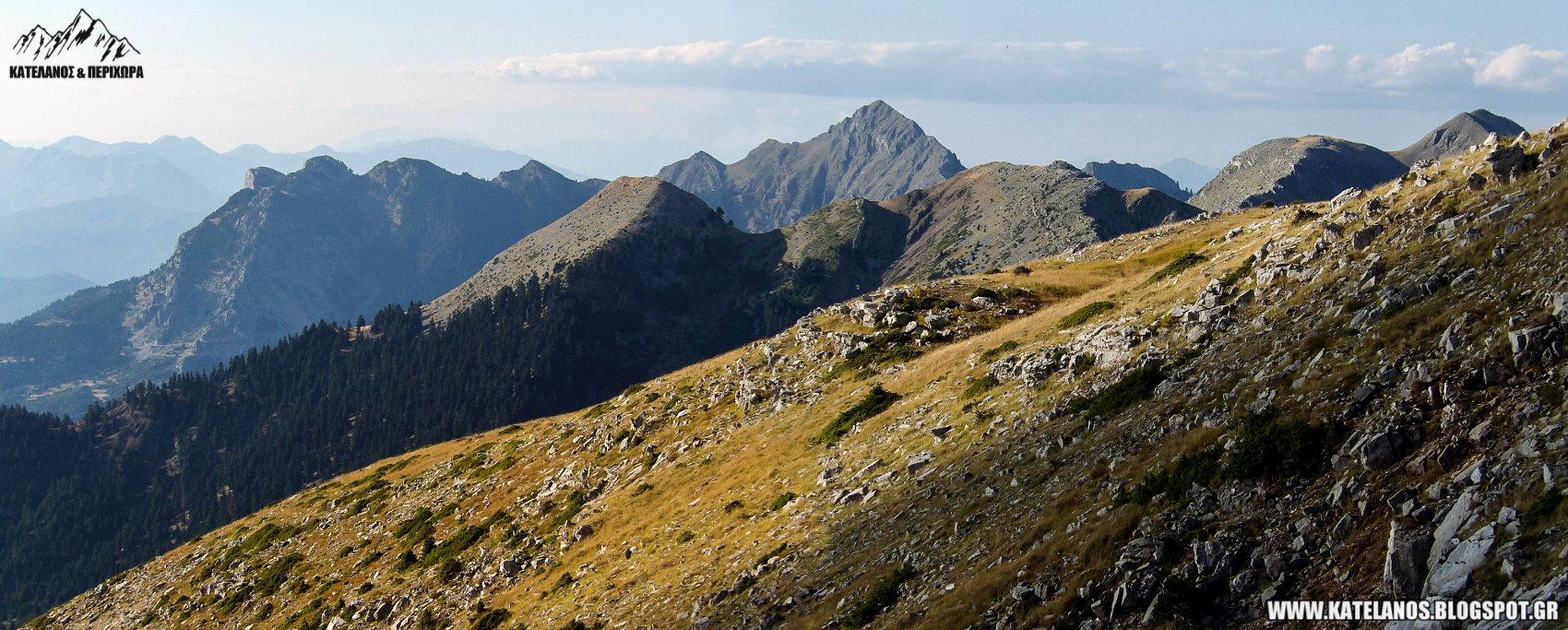 αναβαση στο παναιτωλικο ορος αρεντα βουνα αιτωλοακαρνανια