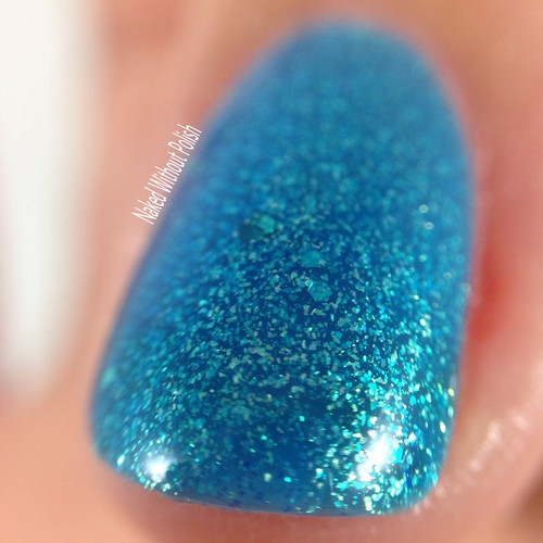 Little-Black-Dress-Nail-Lacquer-Mermaids-Lair-5 | by NakedWithoutPolish