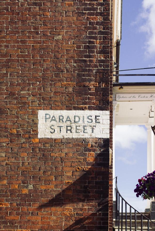 paradise street, poole, dorset