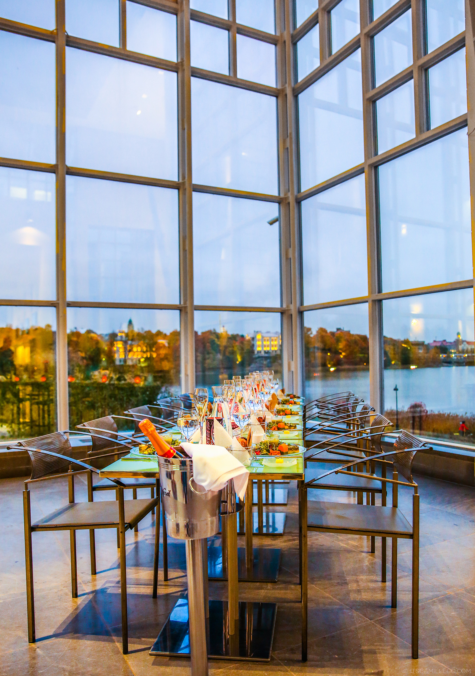 Dinner at Finnish National Opera - www.itscamilleco.com