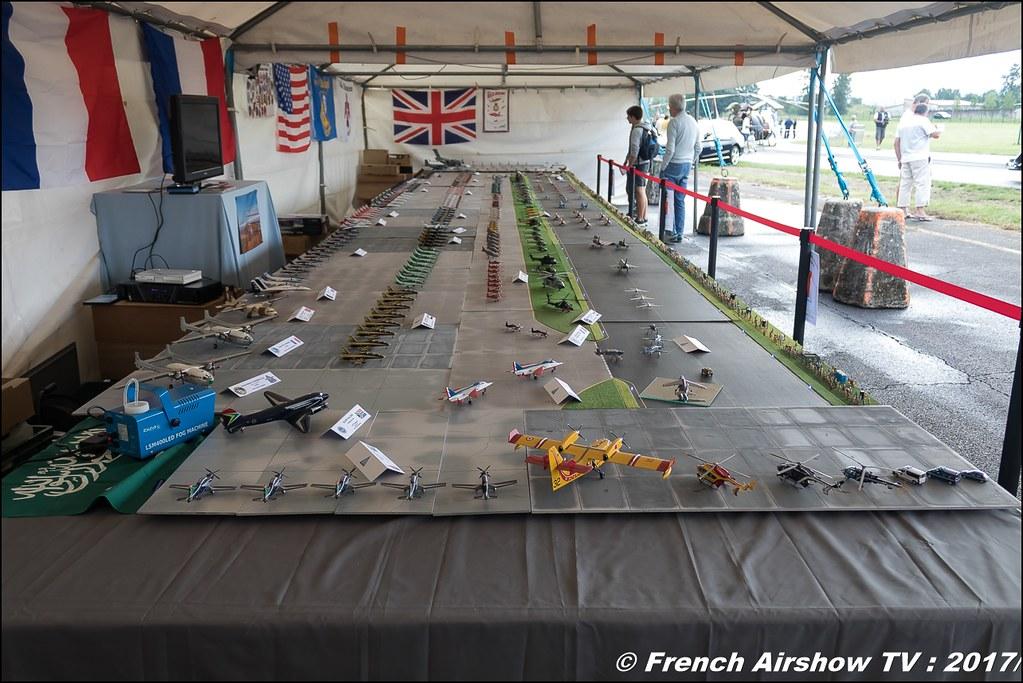 Mondial des patrouilles acrobatique de Richard Catalan - maquettes ,JPO Aurillac 2017 , Meeting Aerien Aeroclub du cantal 2017