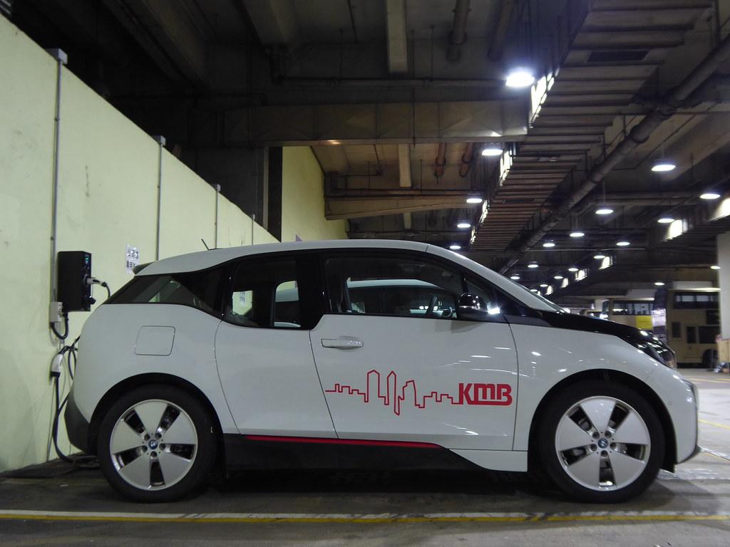 Bmw I3 Electric Car The Offside Kmb Hong Kong Flickr