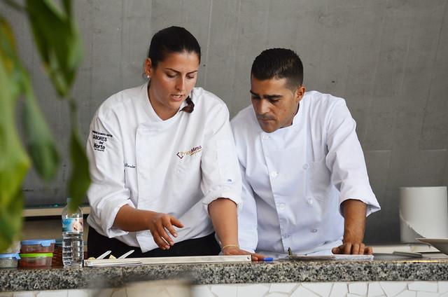 Chefs at Mag Bistro, Santa Cruz, Tenerife