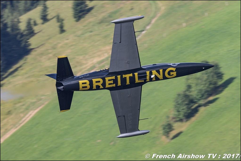 Breitling Jet Team 50ans d'Aviation Megeve 2017 - altiport de Megève , Haute-Savoie, Auvergne-Rhône-Alpes , Meeting Aerien 2017