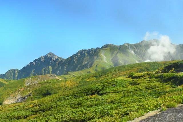 弥陀ヶ原と剱岳