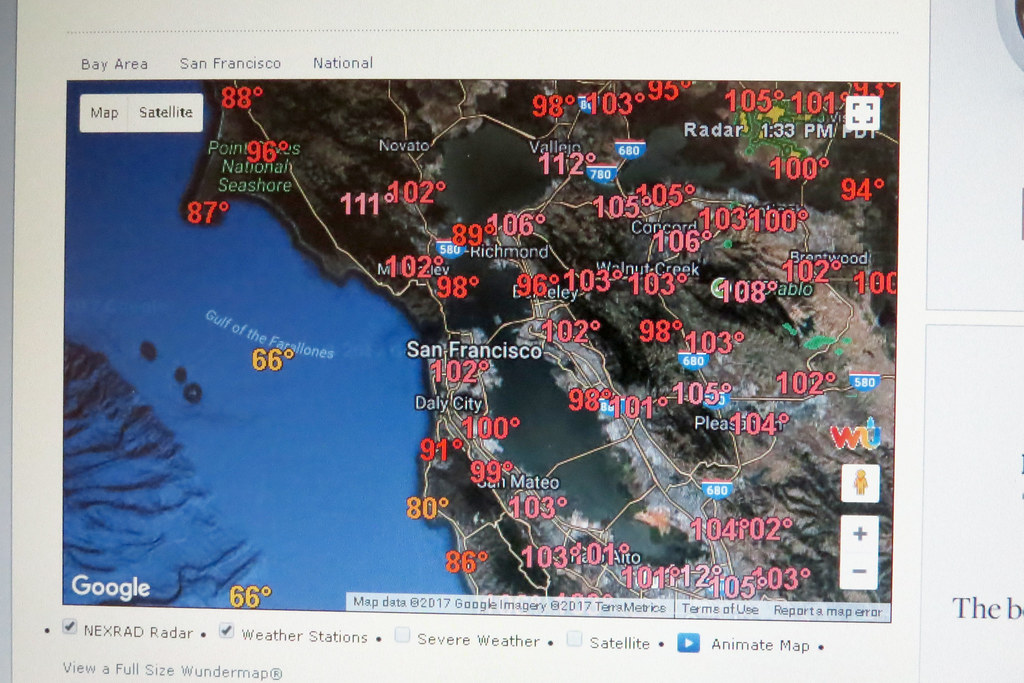 Oppressive temperatures San Francisco Bay Area Interwe… | Flickr