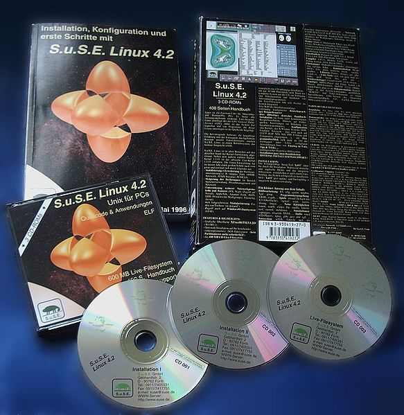 SuSE-Linux-4-2-CDs