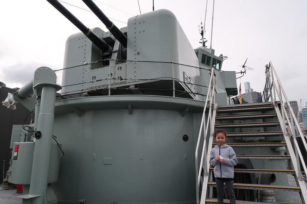 HMAS Vampire, Australia's largest museum vessel