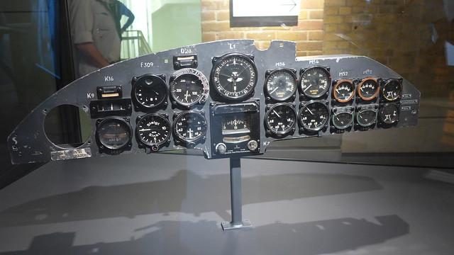 Heinkel He 111 instrument panel