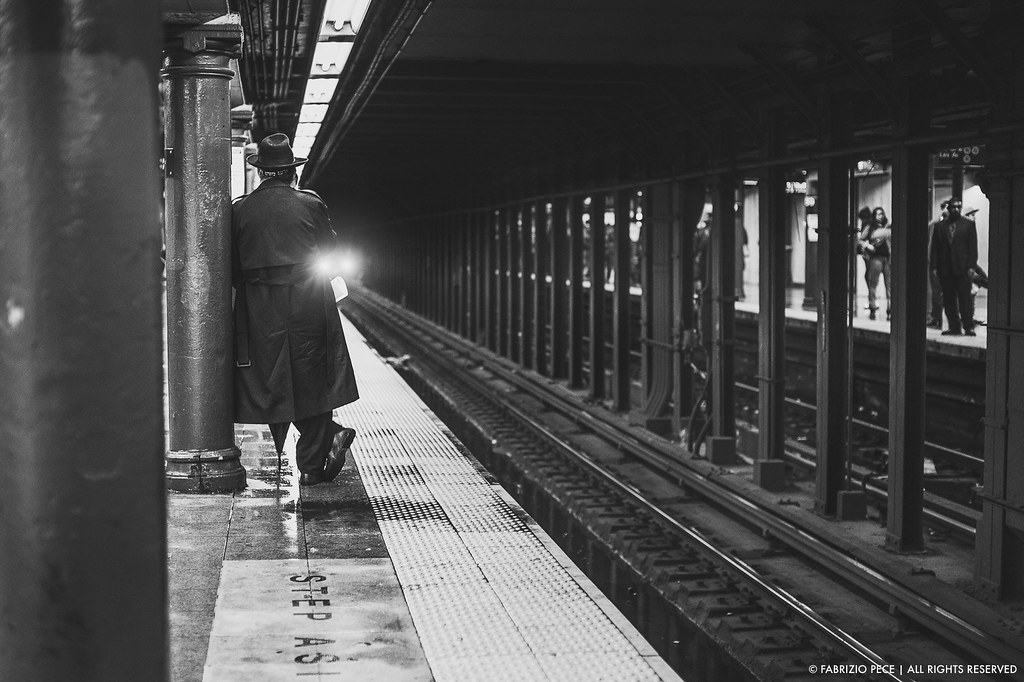 Nonchalance In The Metro Station Fabrizio Pece Flickr