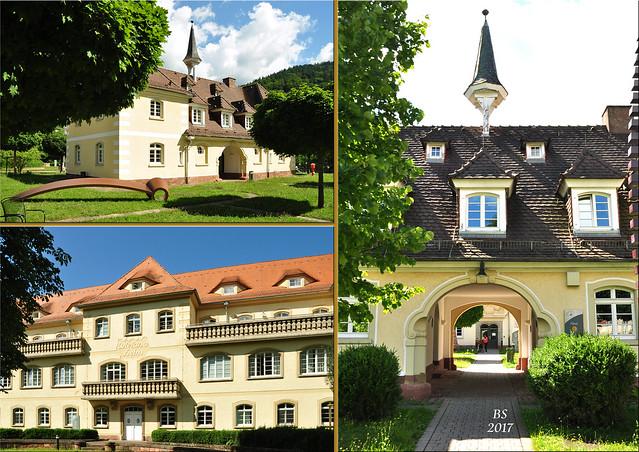 Auf dem Gelände der orthopädischen Klinik Heidelberg-Schlierbach befindet sich ein Skulpturenpark mit 26 Kunstwerken deutscher und internationaler Künstler des 20. und 21. Jahrhunderts ... Foto: Brigitte Stolle