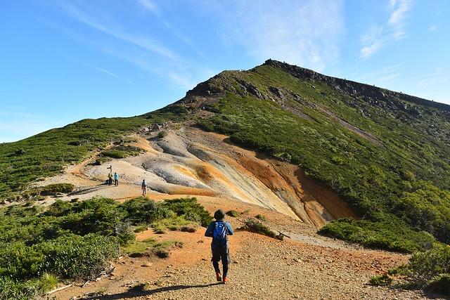 赤岳鉱泉~硫黄岳登山道