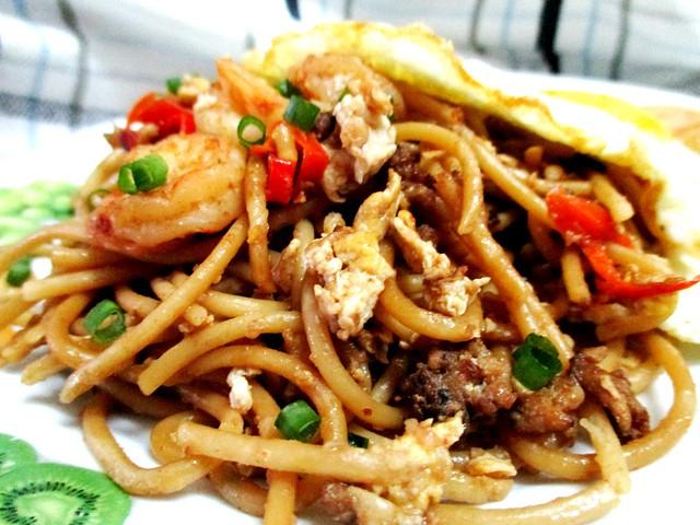 My ckt-style fried spaghetti