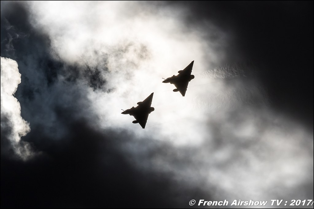 Couteau Delta Tactical Display , Mirage 2000D , La patrouille Couteau Delta , armée de l'air , Meeting aérien contre le cancer , Free Flight World Masters Rodez-Aveyron , FFWM2017 , Meeting Aerien 2017