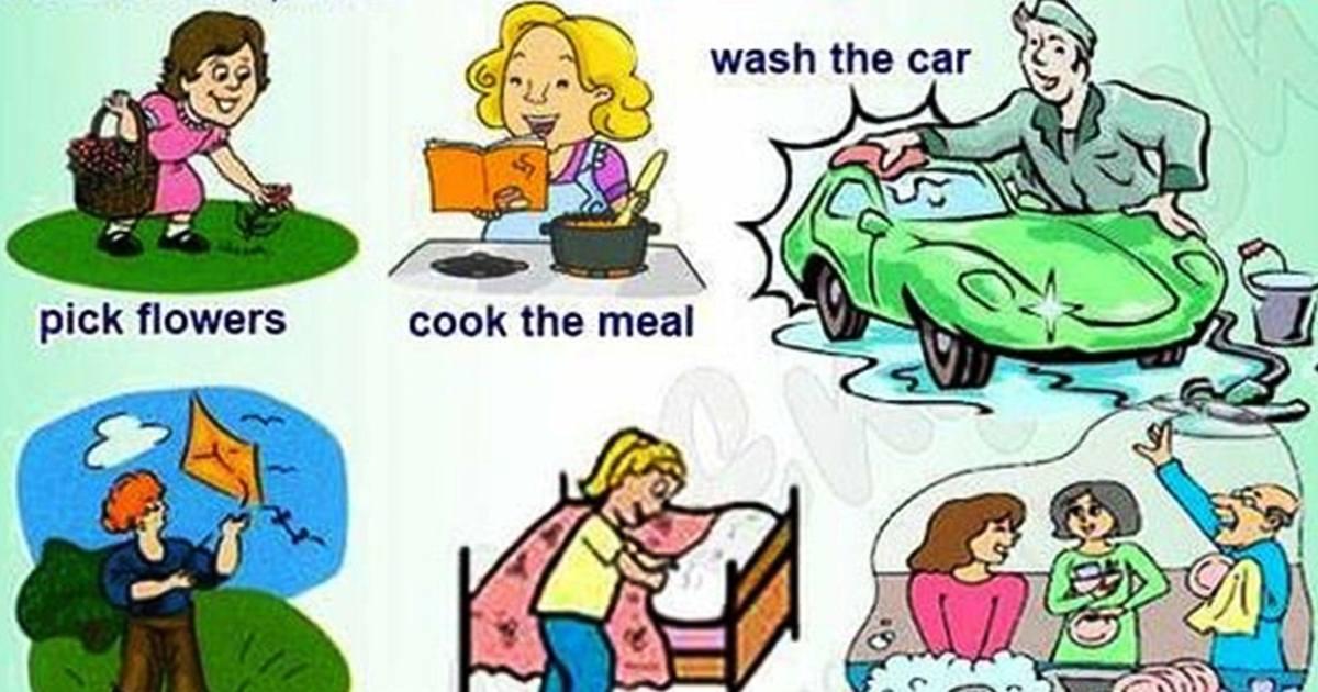 Vocabulary: Everyday Activities 5
