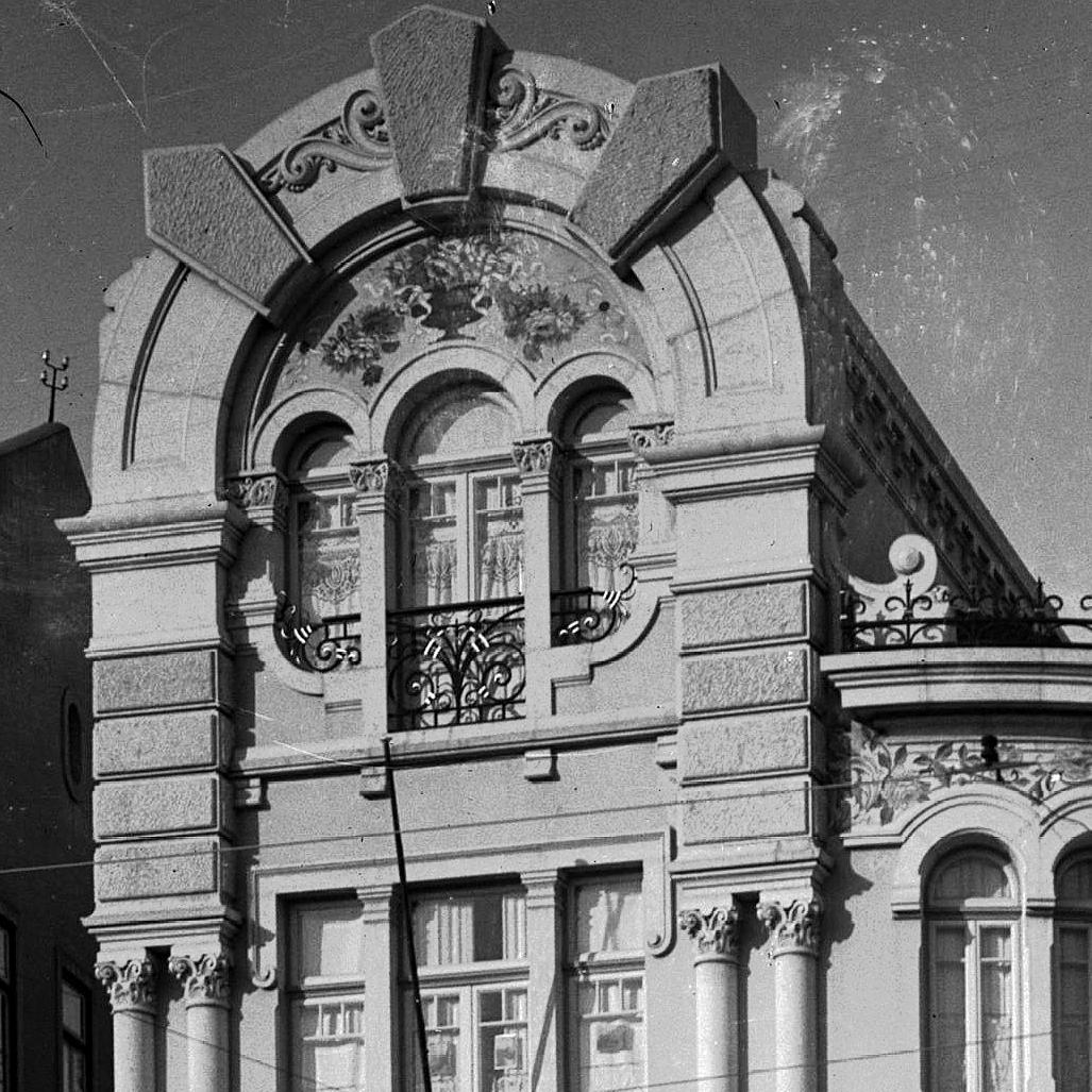 Pormenor do palacete de Nuno Pereira de Oliveira, Saldanha (J. Benoliel, 191...)