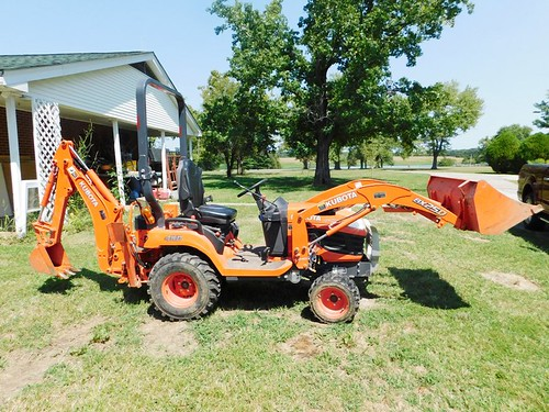 Kubota BX 25D diesel tractor | by thornhill3