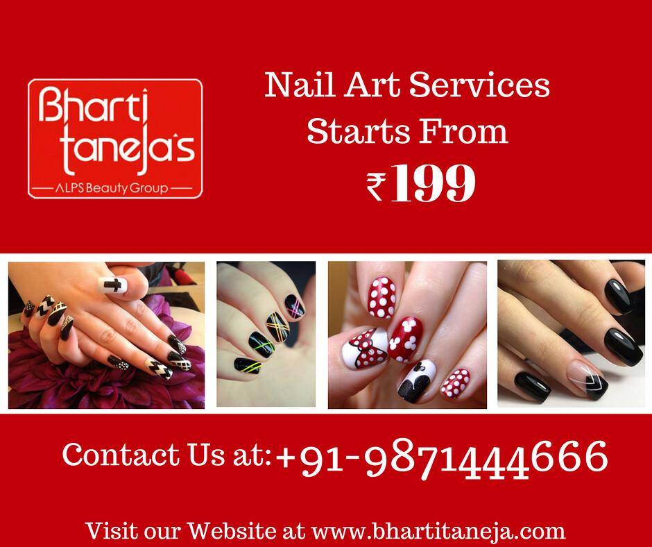 Nail Art Services Starts From Rs 199 Bharti Tanejas Al Flickr