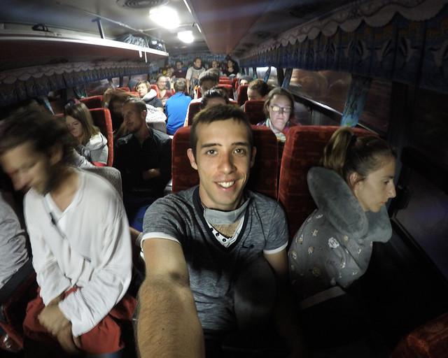 En el autobús que va de Manila de Banaue
