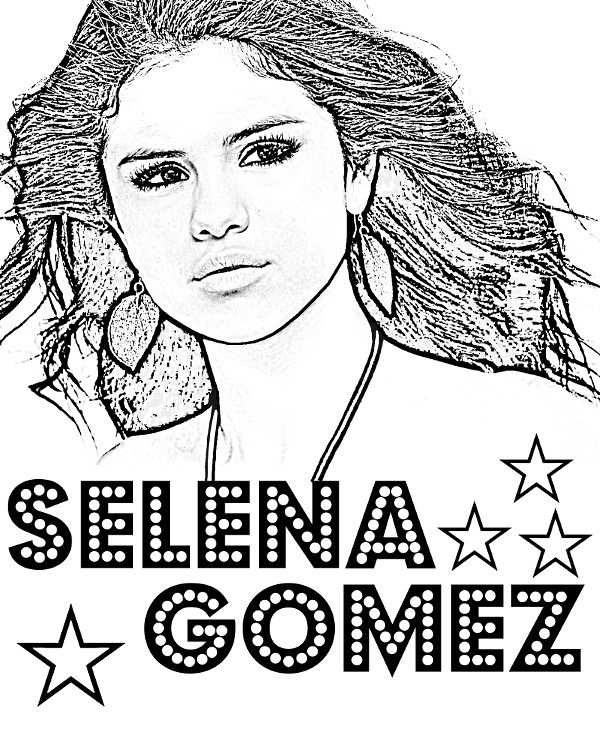 selena gomez coloring pages Selena Gomez coloring page | Selena Gomez to color topcolori… | Flickr selena gomez coloring pages