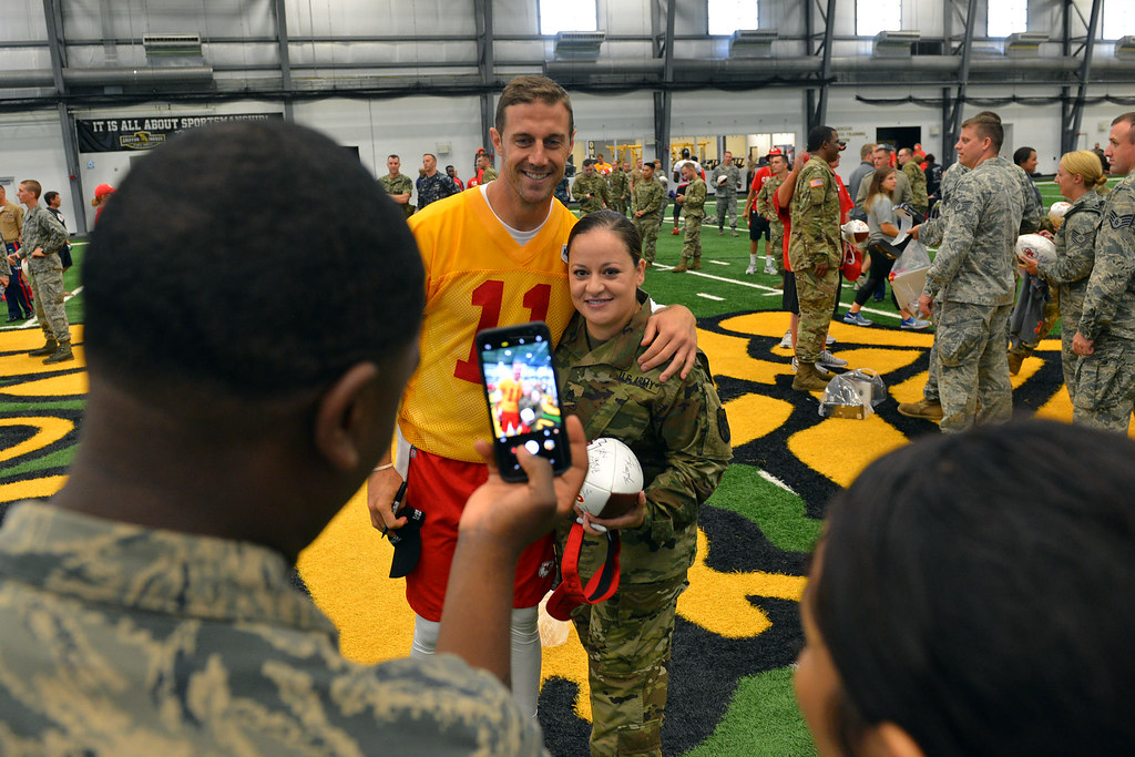 170816 N YC845 152 | Kansas City Chiefs hold Military Apprec