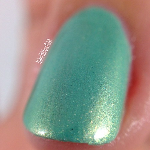 Little-Black-Dress-Nail-Lacquer-Seafoam-Sirens-5 | by NakedWithoutPolish