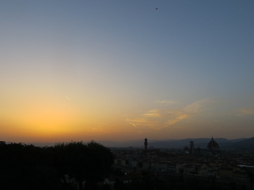 Sunset over Florence III | by evil nickname