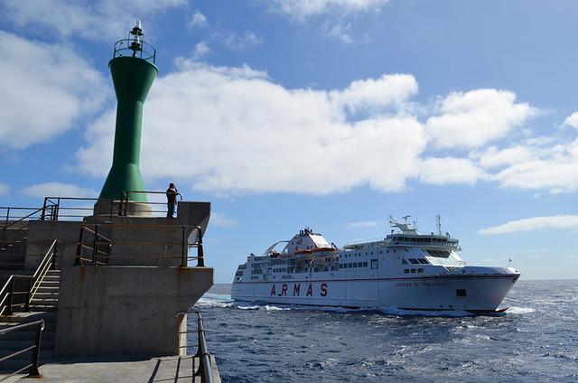 Inter island ferry, Canary Islands