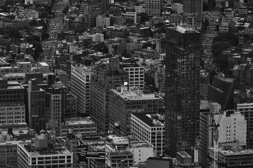 Views from 1 WTC 21 B&W | by C.M. Keiner
