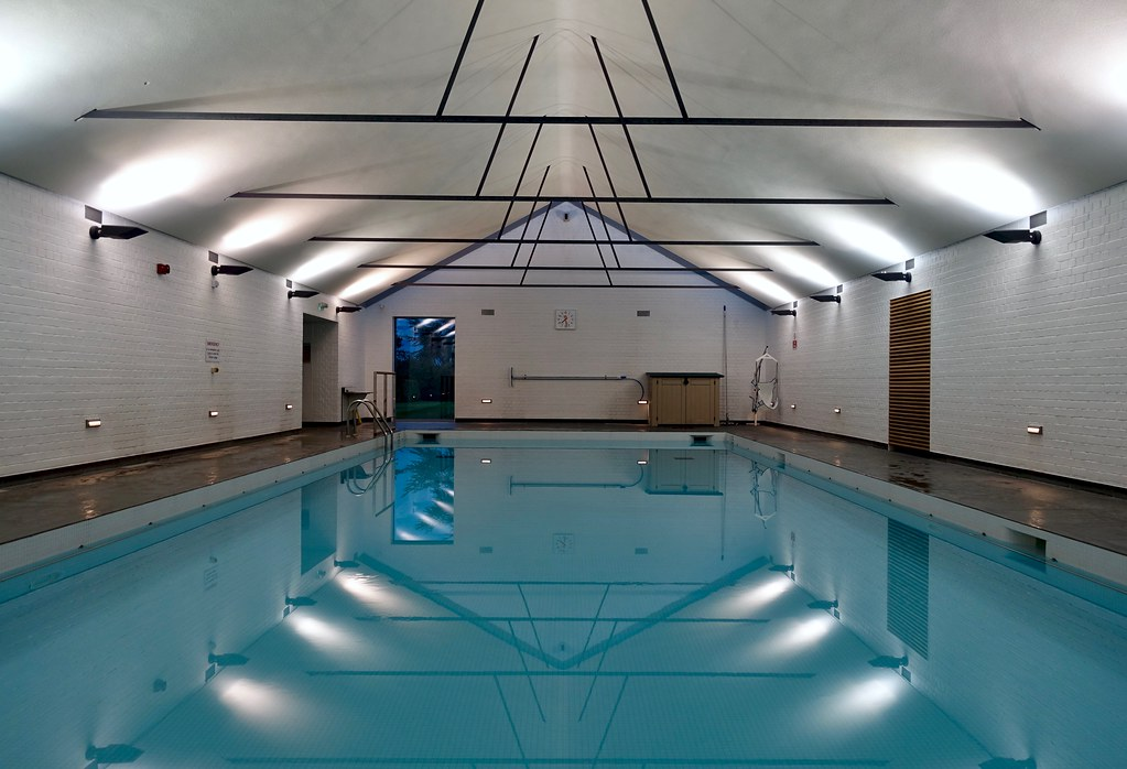 Swimming Pool Girton College Cambridge The Prayer Book Soc Flickr