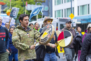 Drumming, Vancouver Kinder Morgan Protest (September 9th, 2017) | by Earker