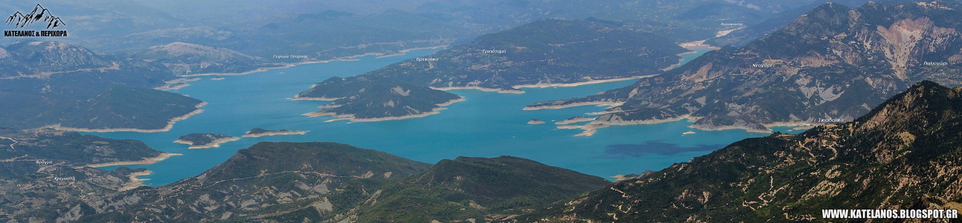 τεχνητη λιμνη κρεμαστων