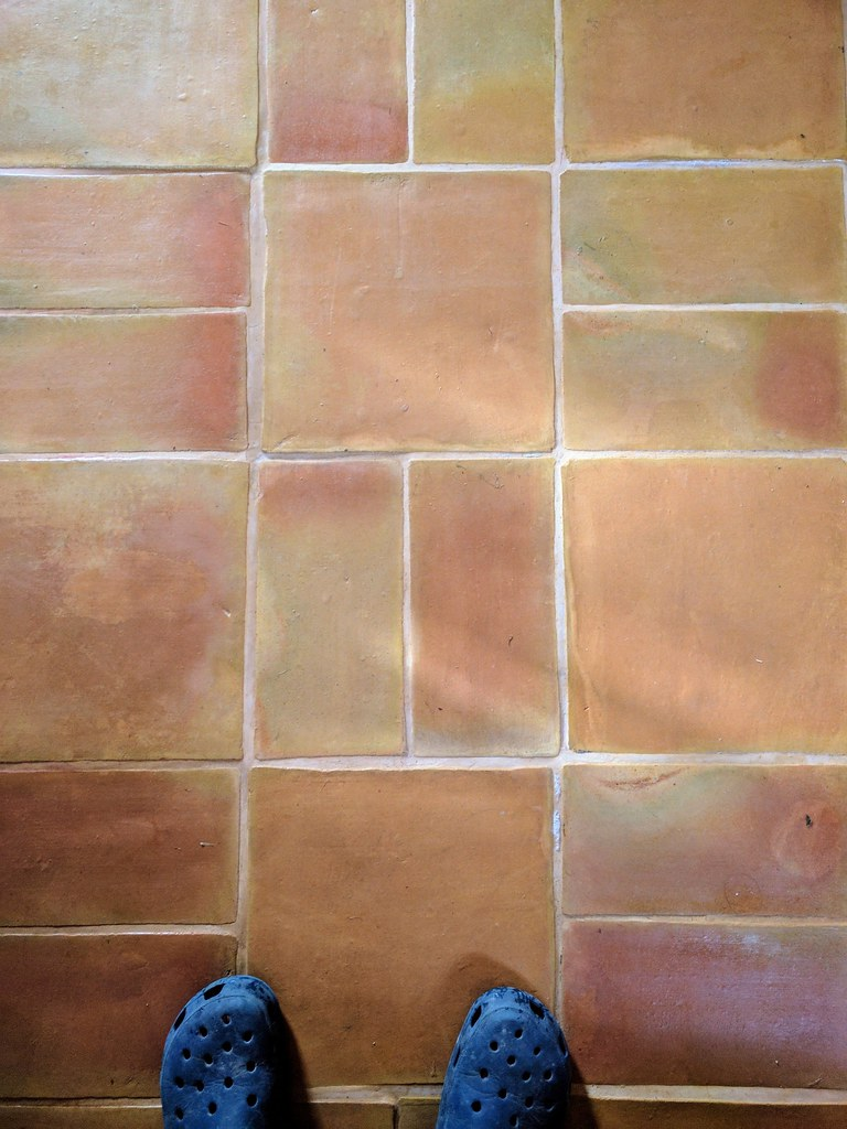 Terracotta tiles   I designed, sourced and learnt to lay a f…   Flickr